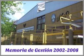 Memoria de Gestión 2002-2008