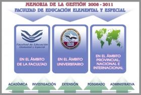Memoria de Gestión 2008-2011