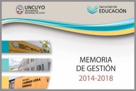 Memoria de Gestión 2014-2018