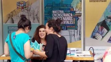 La Facultad de Educación presente en la Feria de Posgrado de la UNCUYO