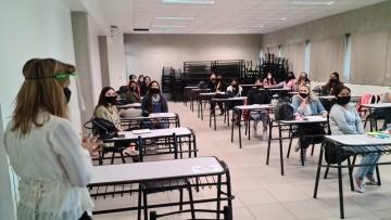 Comenzaron las clases presenciales en las prácticas