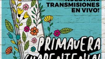 Primavera cuarentenial: entrevistas y bandas por las redes de la Universidad