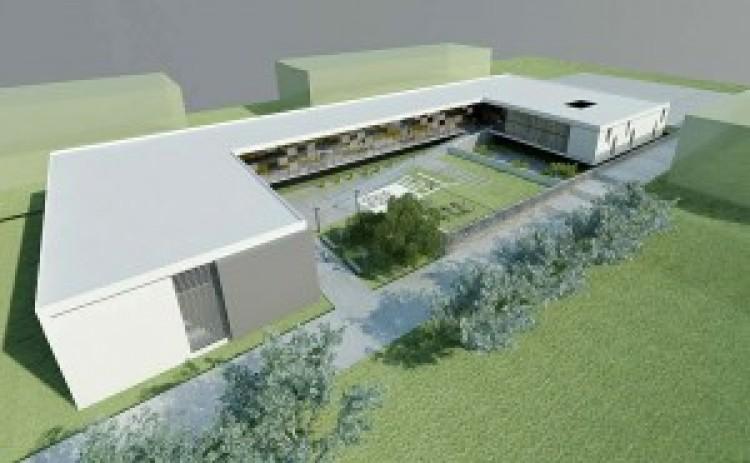Avances en la construcción del nuevo edificio de la Facultad