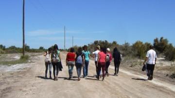 Estudiantes del Taller \Geografía de Mendoza\ visitaron la Laguna del Viborón