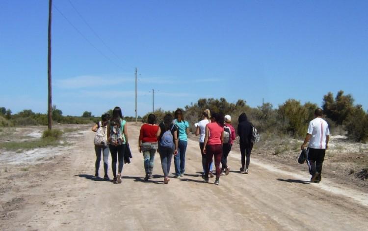 """Estudiantes del Taller """"Geografía de Mendoza"""" visitaron la Laguna del Viborón"""