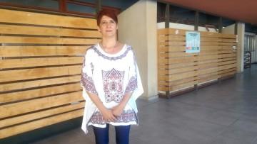 Beatriz Pellegrini, referente de la comunidad sorda