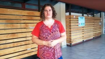 Mariana Martínez, referente de la comunidad sorda