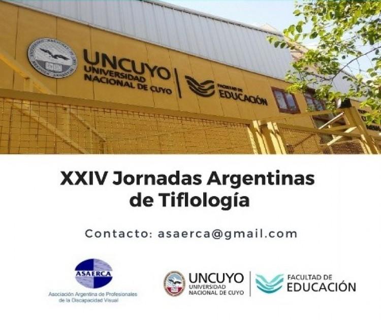 Invitan a las XXIV Jornadas Argentinas de Tiflología