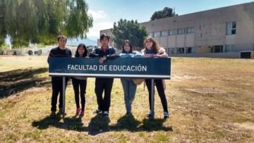 Estudiantes del Ciclo Básico de Sede Tunuyán recorrieron la UNCUYO