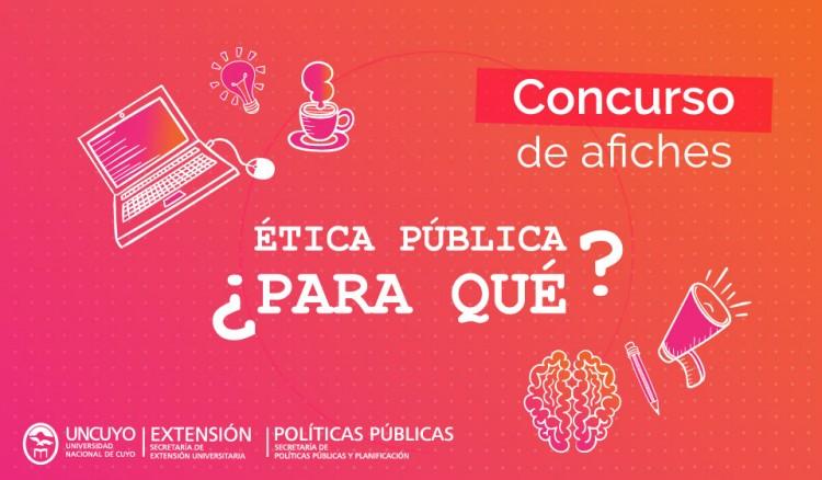 Convocan a estudiantes a presentar afiches de ética pública