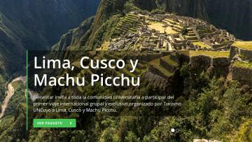 Viajá a Perú con Turismo UNCUYO