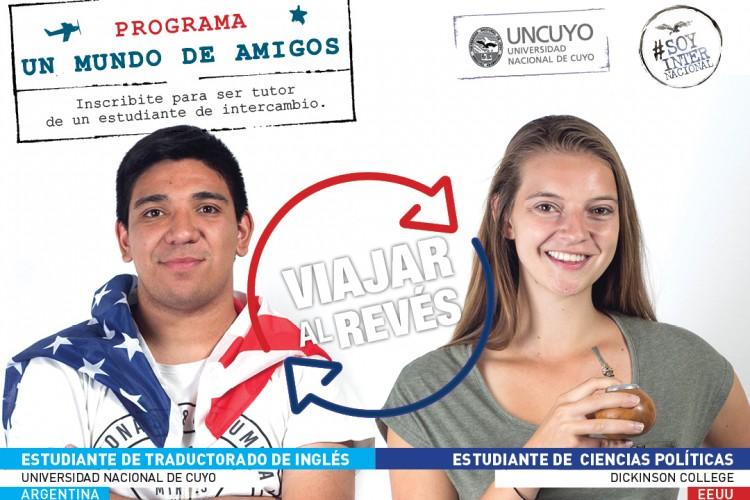 Sé tutor de un estudiante extranjero