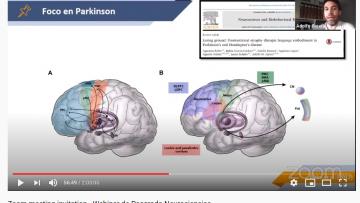 Lenguaje y neurología fueron temáticas de un webinar