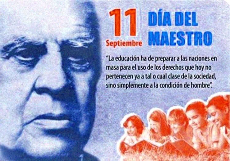11 de Septiembre, Día del Maestro