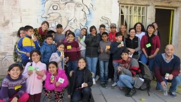 Estudiantes y docentes realizaron prácticas sociales educativas en los barrios del sur de Godoy Cruz