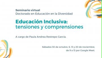 Especialista internacional dictará un seminario sobre Educación Inclusiva