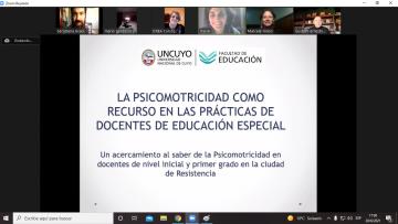 Egresaron dos nuevas licenciadas en Psicomotricidad Educativa