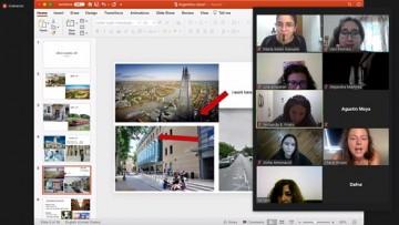 Realizaron charla virtual con una estudiante del King's College de Londres