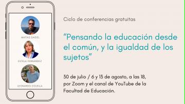 Compartirán reflexiones sobre experiencias educativas desde un equipo de investigación