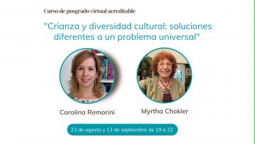 Dos expertas analizarán la crianza, diversidad cultural y cuidado de niños en un curso de posgrado