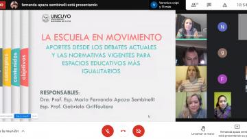 """Gabriela Griffouliere: """"Cuando la escuela no da respuestas muchas veces vulnera derechos"""""""