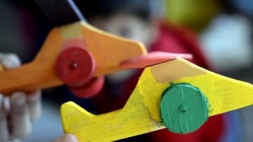 Colecta de juguetes para una escuela albergue