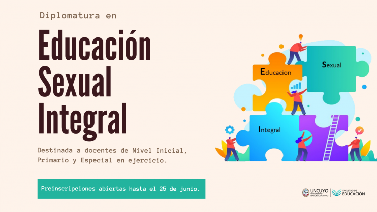 Extienden plazo de inscripción a la Diplomatura en Educación Sexual Integral