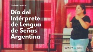 Día del Intérprete de Lengua de Señas Argentina