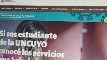 La UNCUYO permanece con clases virtuales