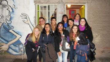 Estudiantes transmitieron noticias por la Radio Comunitaria Cuyum