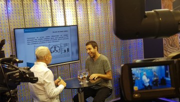 """Entrevista sobre el lenguaje humano para el programa """"ISEL TV"""" de Canal 23"""