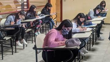 Así se vivió la presencialidad en las mesas de exámenes de la Facultad