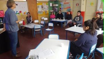 Alfabetización familiar temprana fue la temática de un Proyecto de Extensión