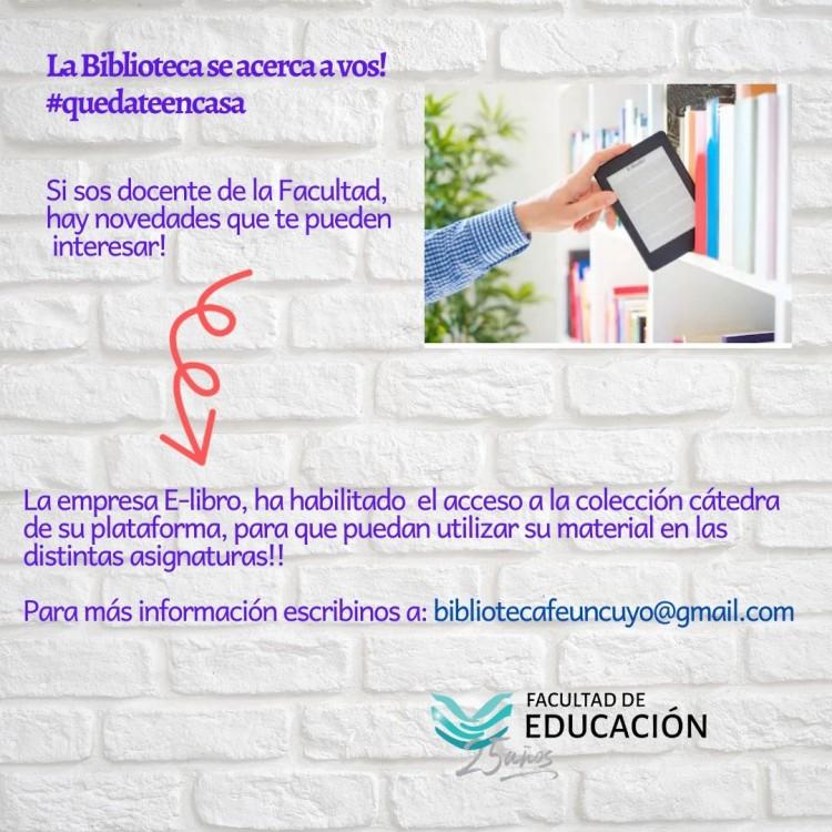 Noticias E-libro para docentes