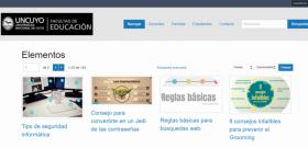Prensa UNCUYO | 27 de abril de 2021 | La Facultad de Educación ofrece Recursos Educativos Abiertos para utilizar