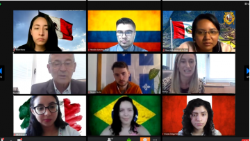 65 estudiantes extranjeros comenzaron a cursar en la UNCuyo de manera virtual